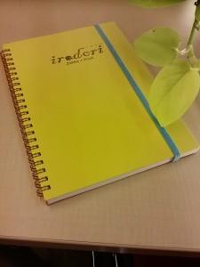 箔押しノート
